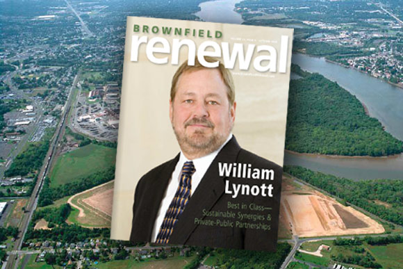 Viridian is the Cover Story of Brownfield Renewal